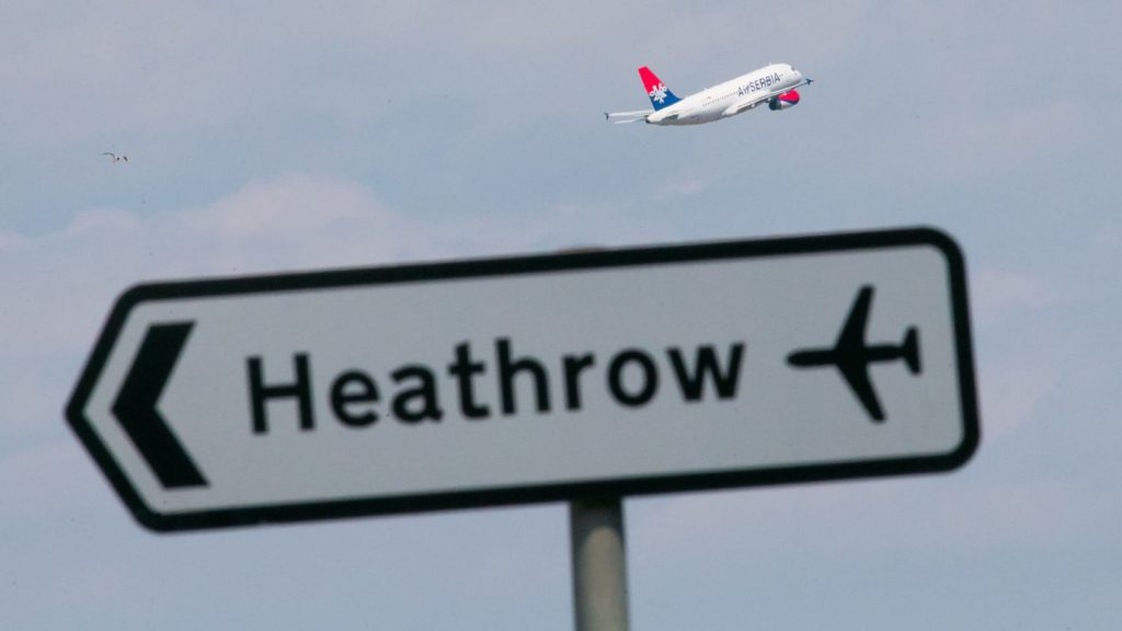 heathrow by car