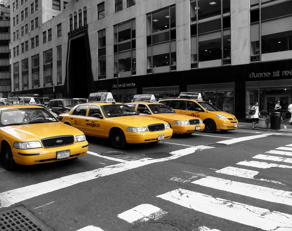 yellow cabs in new york taxi london