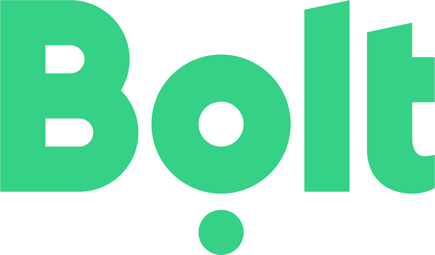 bolt taxi logo green